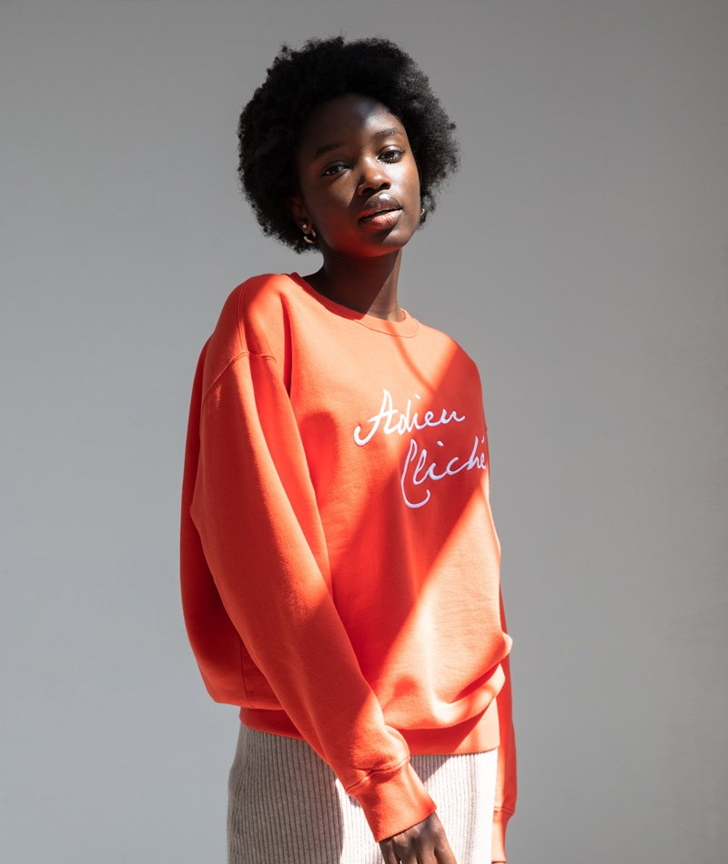WOMOM Adieu Cliché Sweater rot