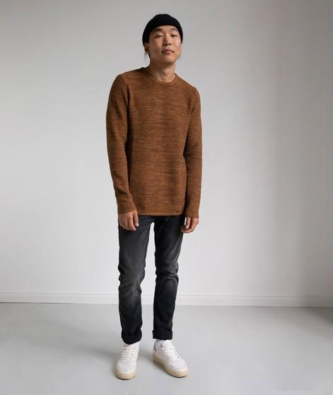 REVOLUTION Multi-Colored Pullover braun