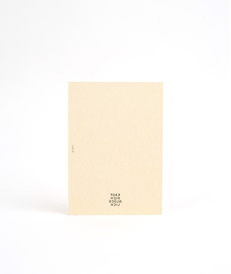 KAUF DICH GLÜCKLICH Postkarte Sun