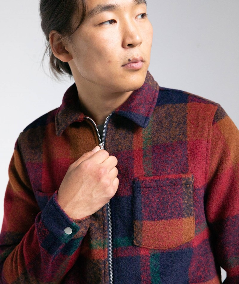 REVOLUTION Flannel Hemd multi