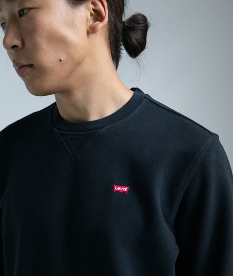 LEVIS New Original Crew Sweater black