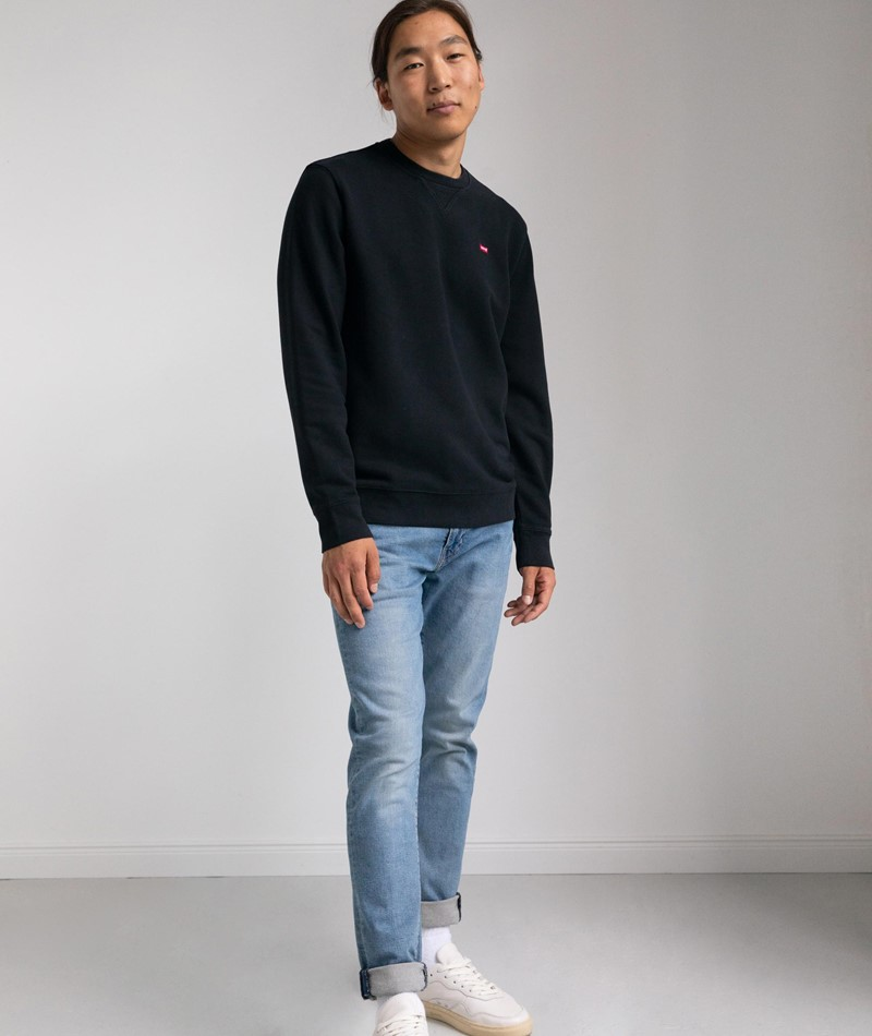 LEVIS New Original Crew Sweater black