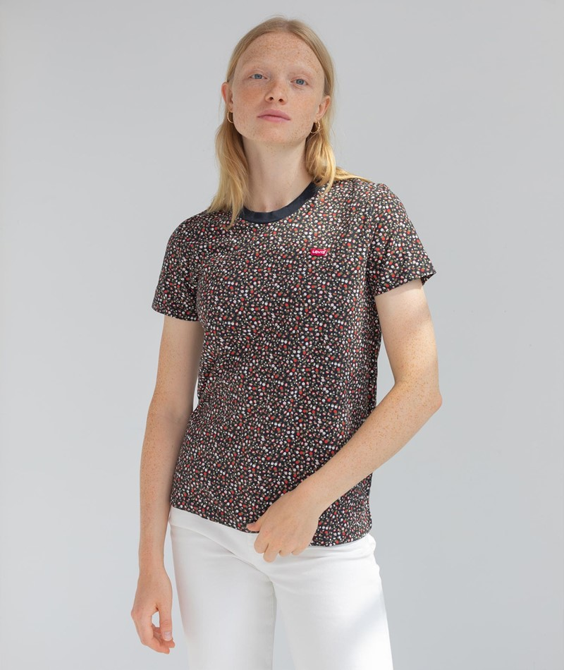 LEVIS Perfect T-Shirt gemustert