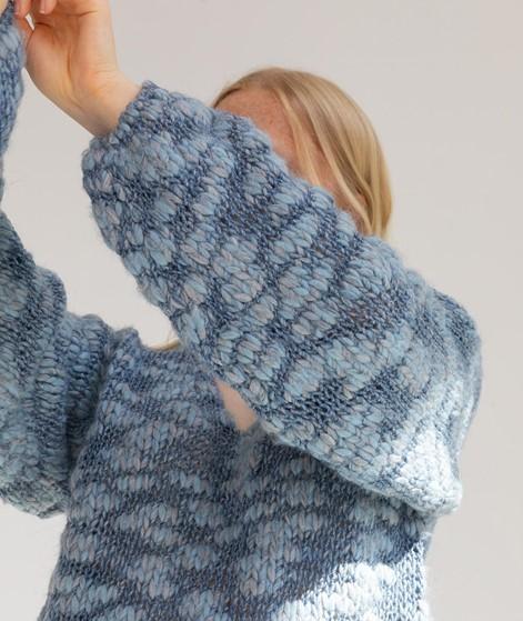 MADS NORGAARD Krizzy Pullover blau