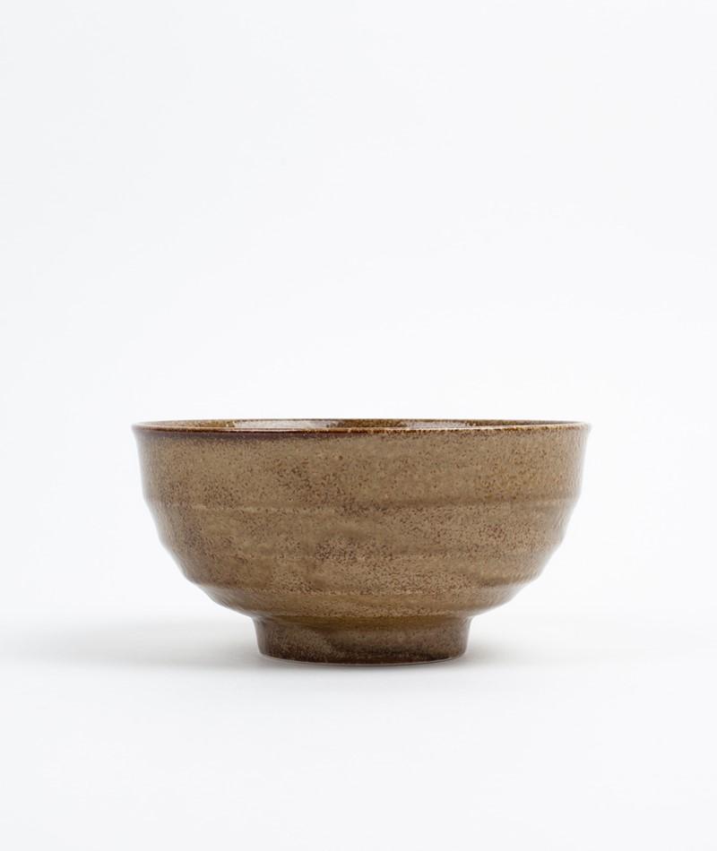 HKLIVING Japanese Noodle Bowl braun