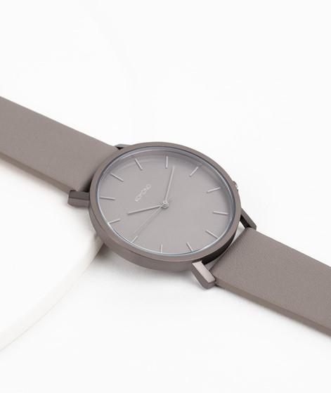 KOMONO Lewis Monochrome Uhr dunkelgrau