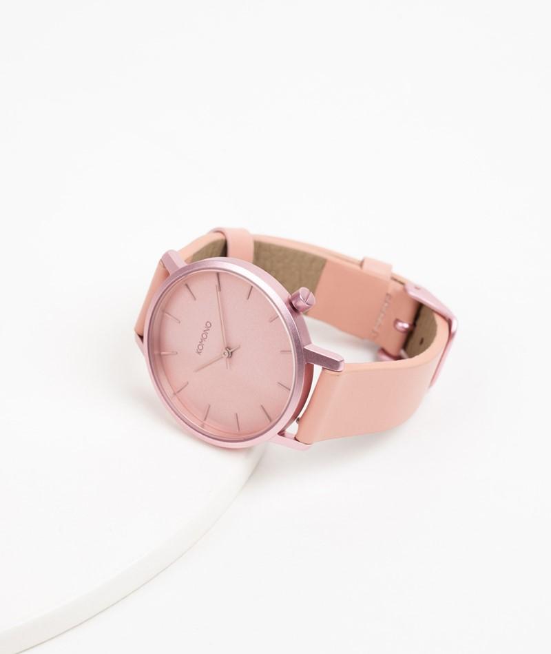 KOMONO Harlow Monochrome Uhr rosa