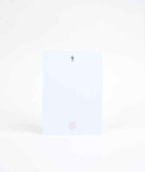 KAUF DICH GLÜCKLICH Postkarte With Love