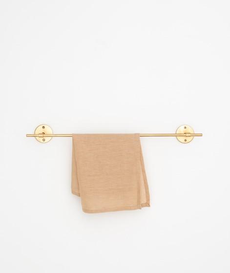 MADAM STOLTZ Hand forged towel rod gold