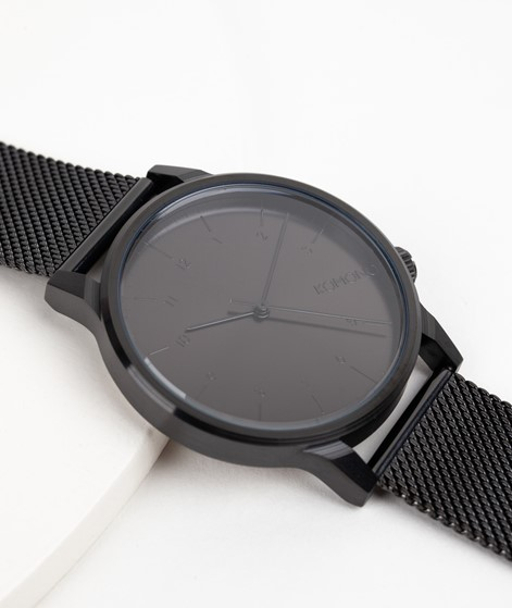KOMONO Winston Royale Uhr schwarz
