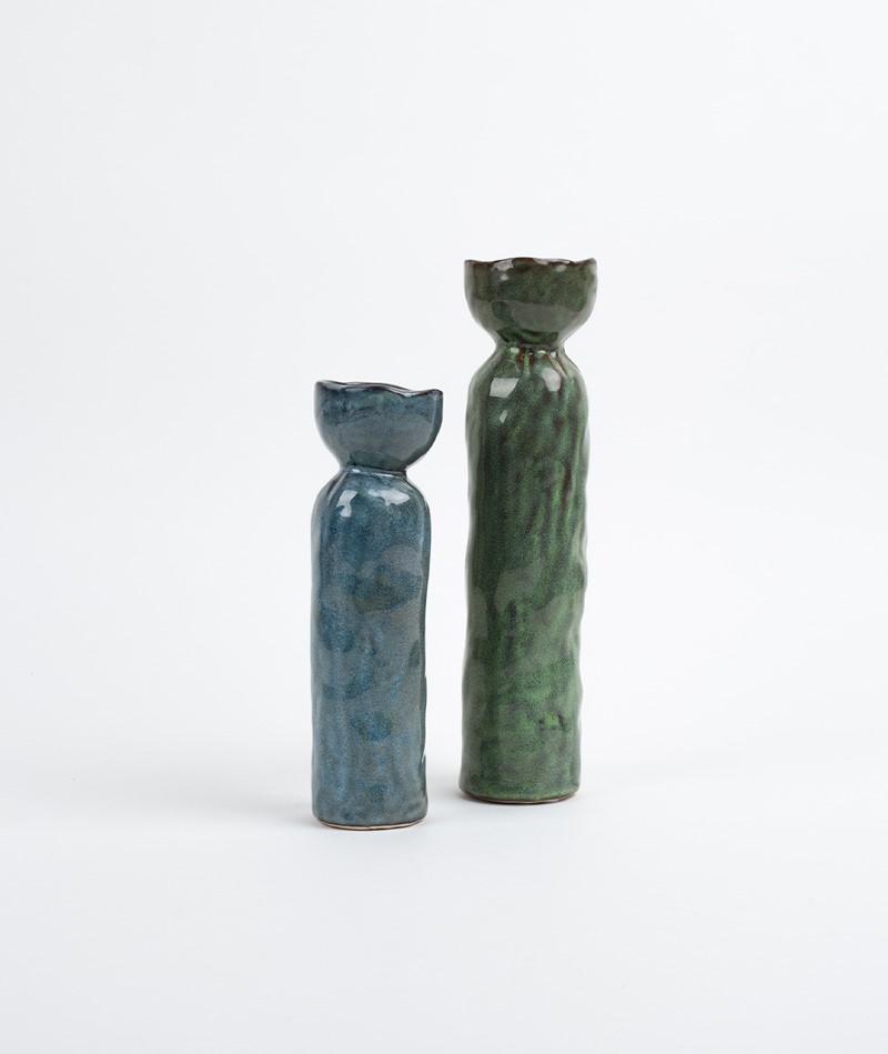 2HAVE Vase Body grün groß