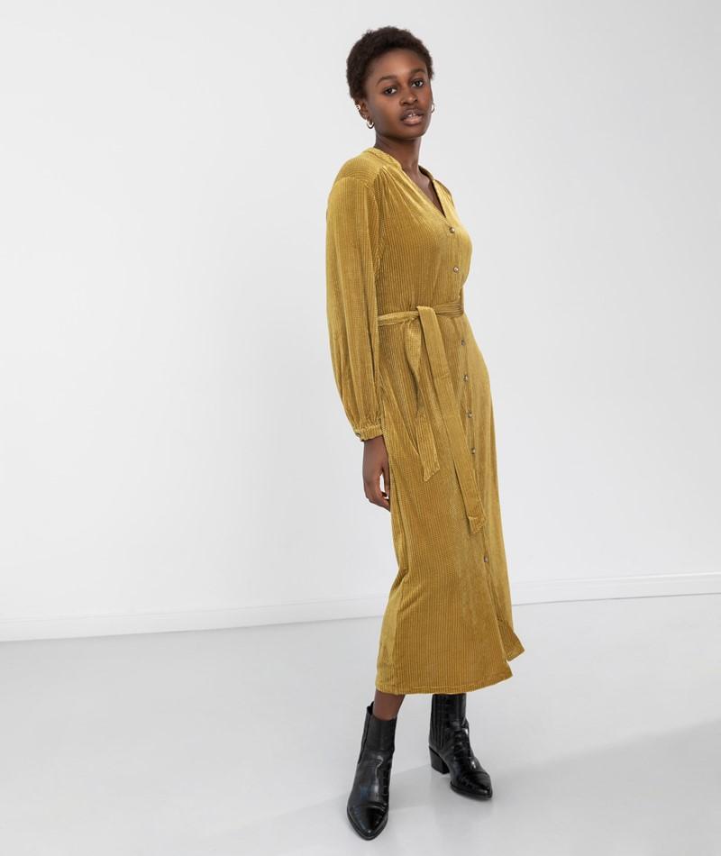 FRNCH PARIS Adplohine Kleid gelb