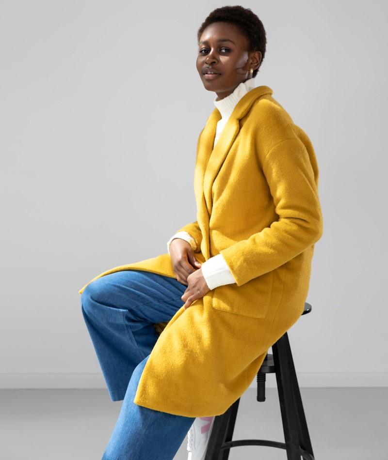 FRNCH PARIS Sedrine Coat gelb
