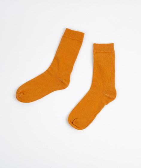 KAUF DICH GLÜCKLICH Socken mustard