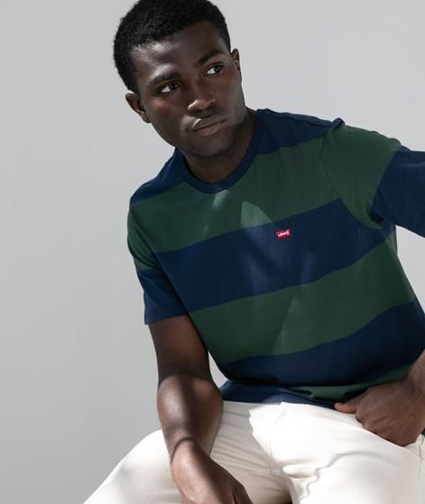 LEVIS SS Orginal T-Shirt gestreift blau