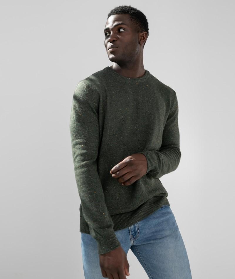 MINIMUM Hammer Pullover grün