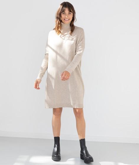 VILA VIRil Rollneck L/S Kleid beige