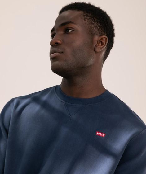 LEVIS New Original Crew Sweater blue