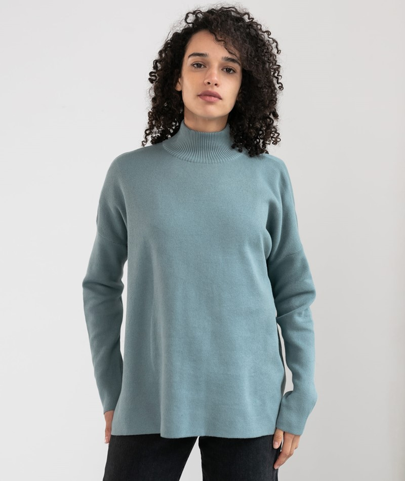 ARMEDANGELS Yunaa Pullover soft moss