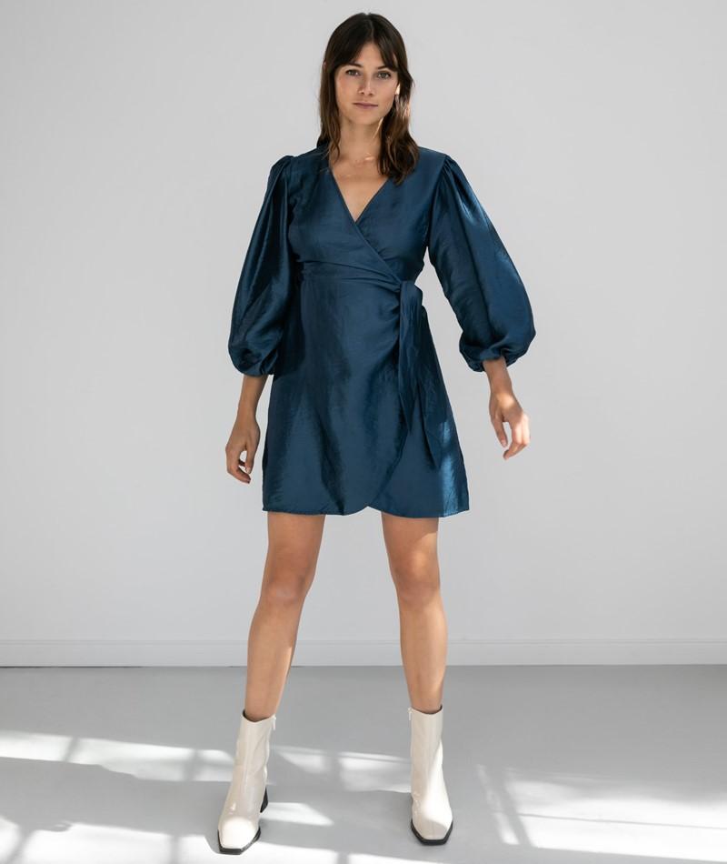FRNCH PARIS Acela Kleid metallic