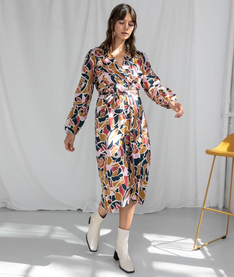 FRNCH PARIS Assile Kleid print