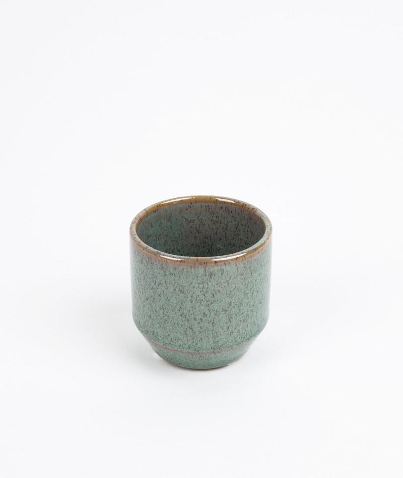 BLOOMINGVILLE Votive Stoneware green
