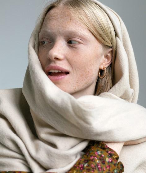 MBYM Stacy Sid Schal beige