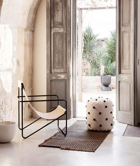 FERM LIVING Dot Tufted Pouf