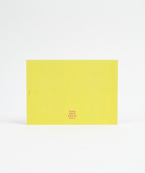 KAUF DICH GLÜCKLICH Postkarte kisses