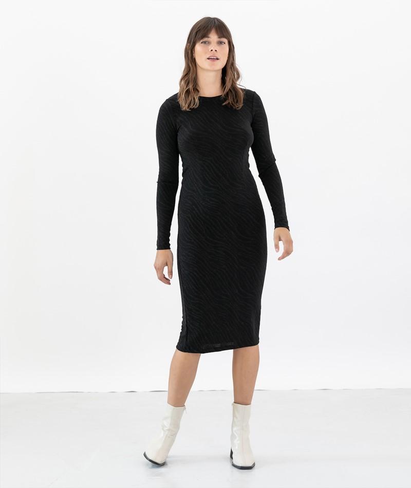 SAMSOE SAMSOE Jenara Kleid schwarz