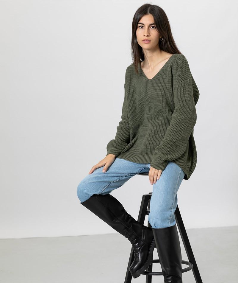 JAN N JUNE Lima Pullover khaki