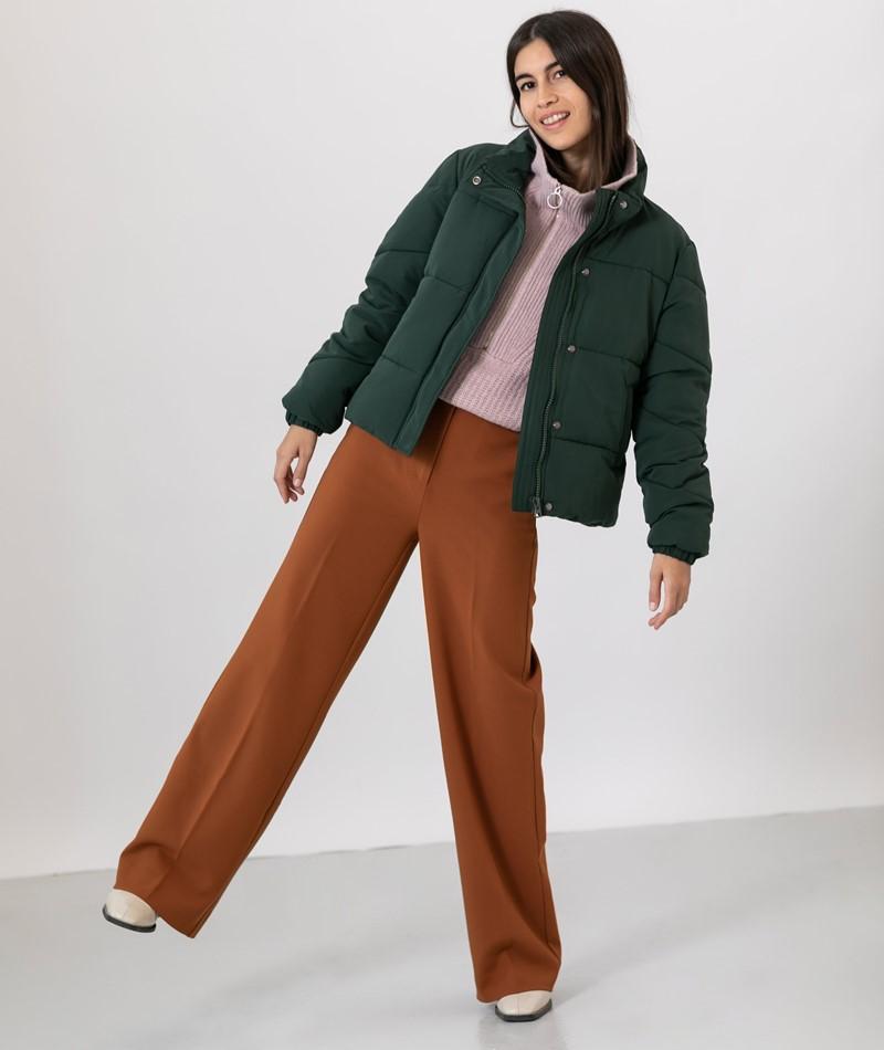 ANOTHER LABEL Mille Puffer Jacke grün