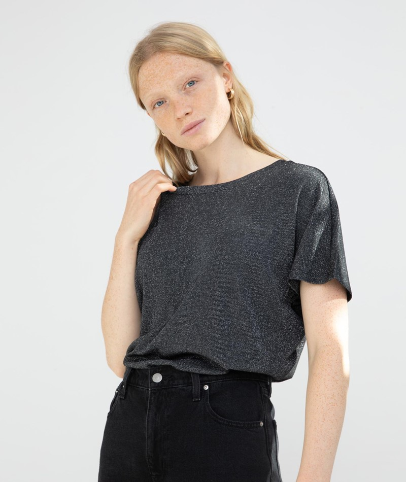 JAN N JUNE Nolita T-Shirt silber