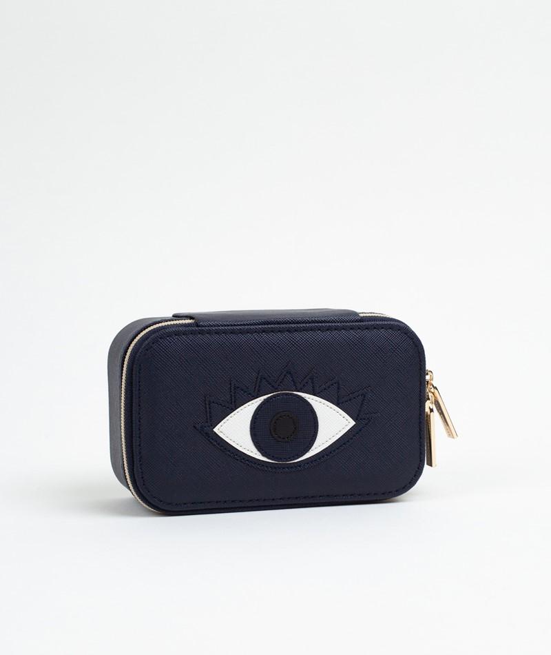 ESTELLA BARTLETT Mini Schmuck Box blau