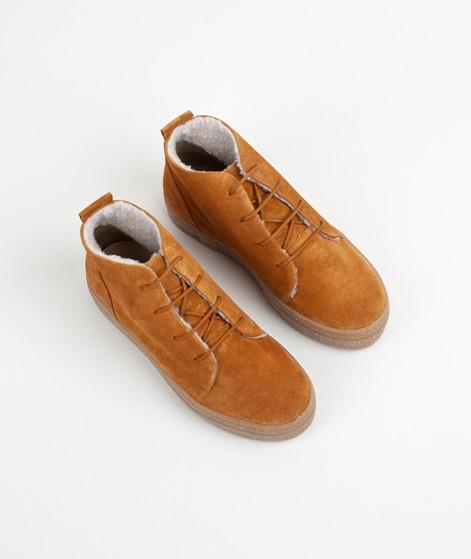 KAUF DICH GLÜCKLICH Ledersneaker rust