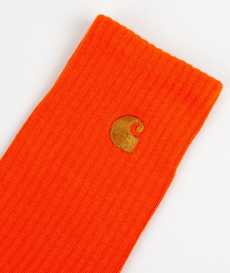 CARHARTT WIP Chase Socks orange