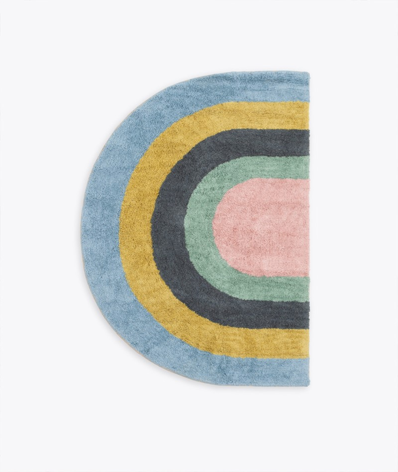 LIV Regenbogen Teppich multi