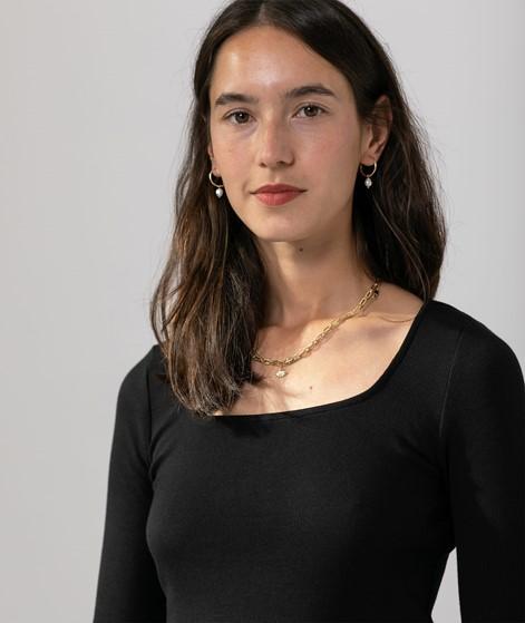 MOVES Pasia Midi Kleid schwarz