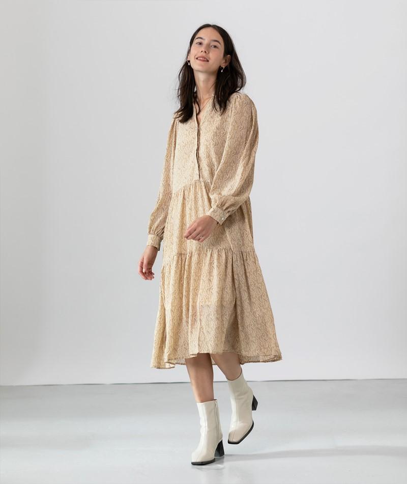 NEO NOIR Emili Fower Kleid gelb