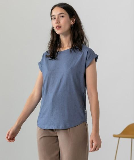 WEMOTO Bell Nep T-Shirt blau