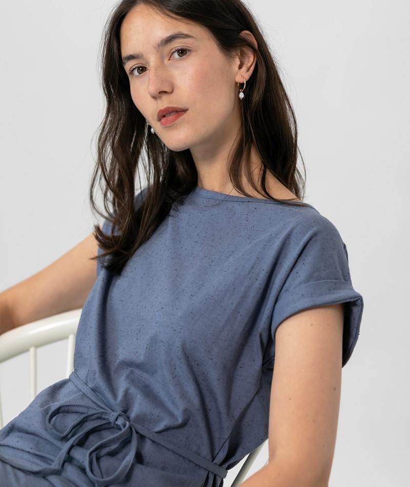 WEMOTO Kano Kleid blau melange