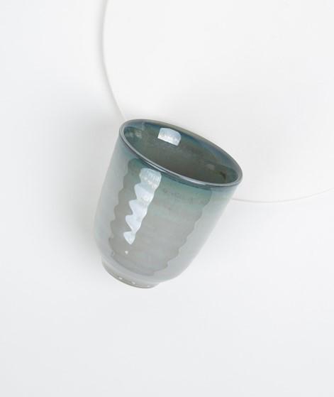HKLIVING Mug grün grau