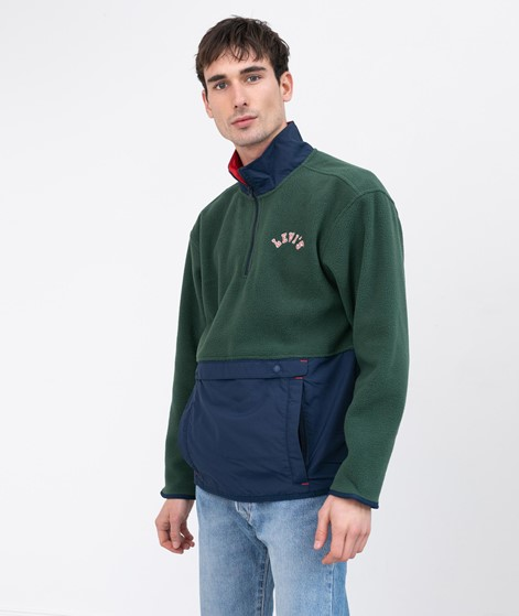 LEVIS Quarter Zip Polar Sweater