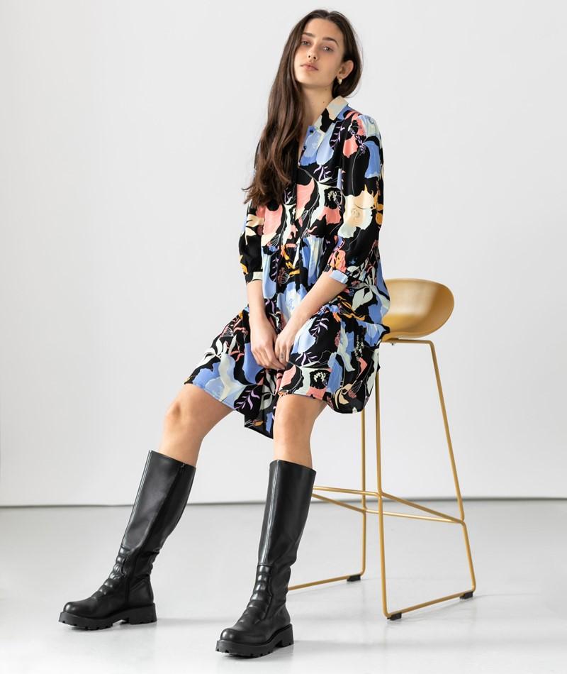 YAS YASErika 3/4 Kleid print
