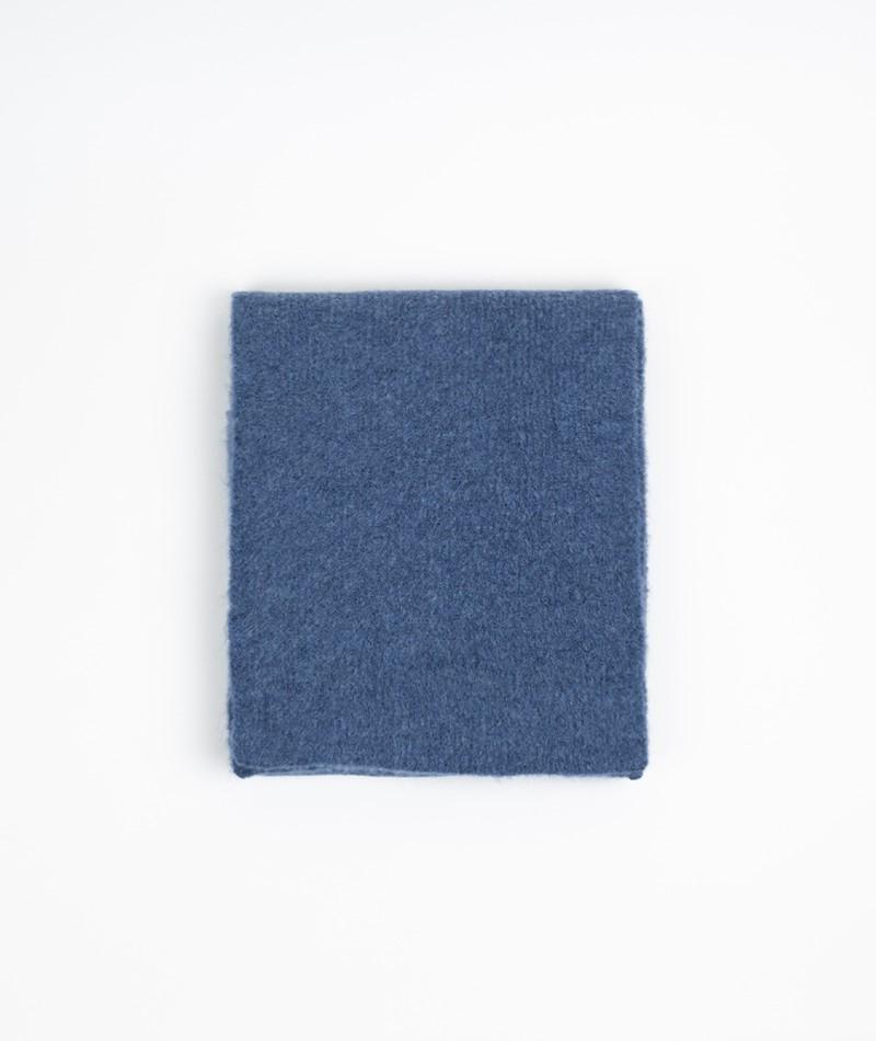 KAUF DICH GLÜCKLICH Schal blau