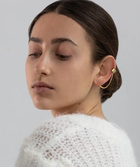 TOMSHOT Ear Cuff mit Kette gold