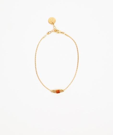 TOMSHOT Armband bernstein/ gold