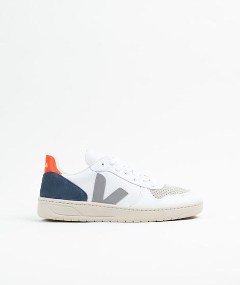 VEJA V-10 Sneaker extra white, grey