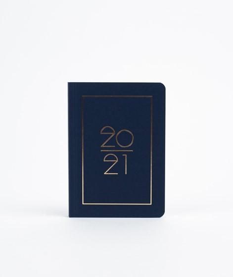 NAVUCKO Pocket Planner/ Diary 2021 blau