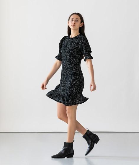 NEO NOIR Minja Crepe Dot Kleid gepunktet